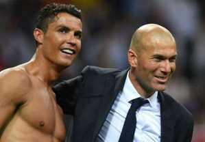 Zidane cautious over Ronaldo return